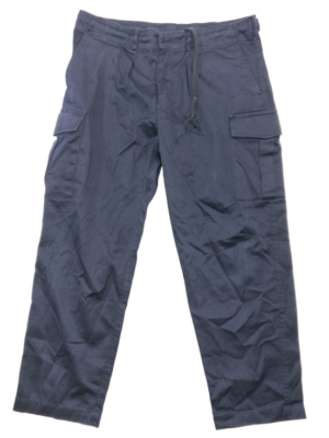 British Royal Navy surplus blue cotton Combat trousers work