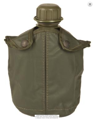 Belgian army surplsu canteen mug and cover