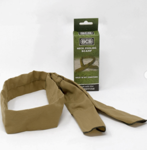 BCB hot weather tropical water neck cooling scarf British army