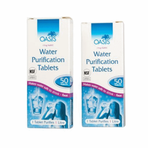 OASIS WATER PURIFICATION TABLETS 8.5mg British Army Issue Survival Tabs Genuine