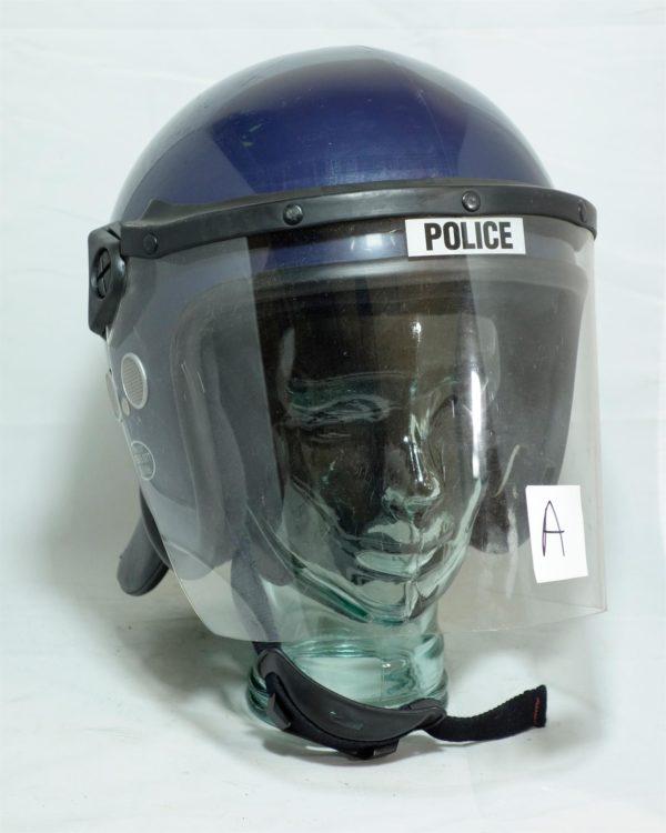 British police BLUE or BLACK riot helmets, range of sizes, security