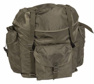 New and unissued 80 Litre Austrian army surplus waterproof rucksack bergen