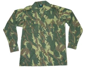 Army Surplus Style Lizard Camo Long sleeved shirt