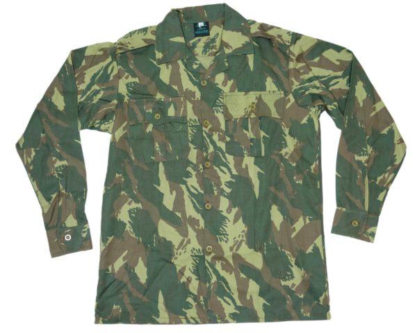 Army Surplus Style Lizard Camo Long sleeved shirt