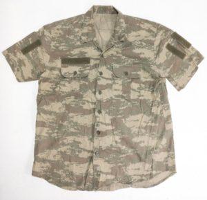 Turkish Military Surplus Camouflage Combat Field Shirt