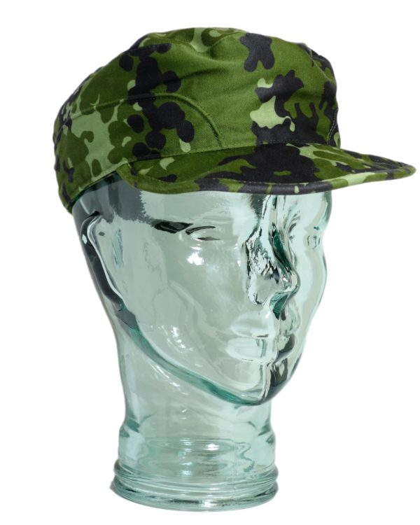 Genuine Danish army surplus distinct M84 camou NEW field cap