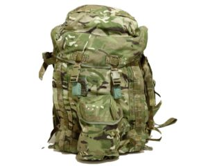 British Army Surplus Long and Short back bergen rucksack MTP camo