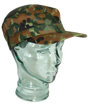 Army Surplus B.D.U Style Elasticated Rip Stop Baseball Caps Colour Choices