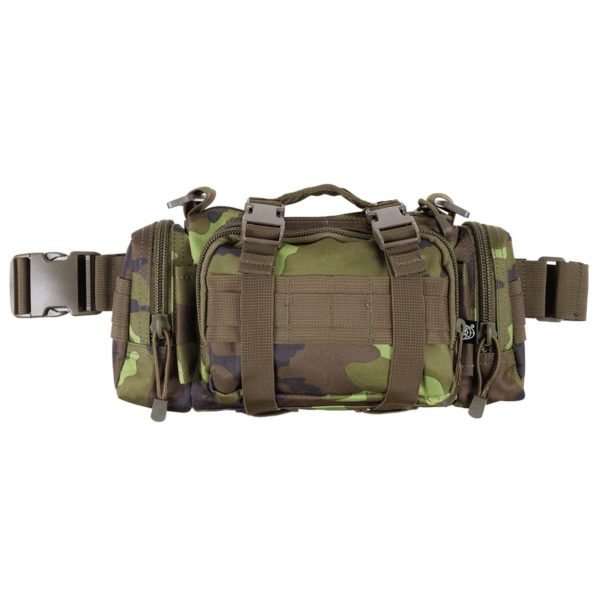 Czech Army Style Type 95 Camouflage Hip and Shoulder Bag Molle