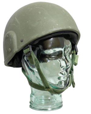 Genuine British Army Surplus MK6 VI Combat Helmet Olive Green
