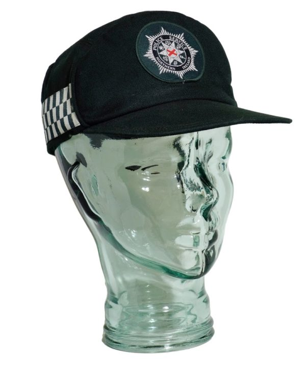 Obsolete Northern Ireland police constabulary green badged cap