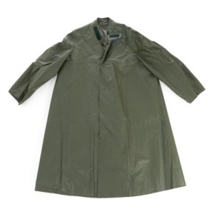 Swedish army military surplus waterproof trench coat jacket UNISSUED
