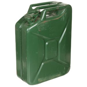 French Army Surplus 20L Metal Green Jerry Can Small or Large Opening