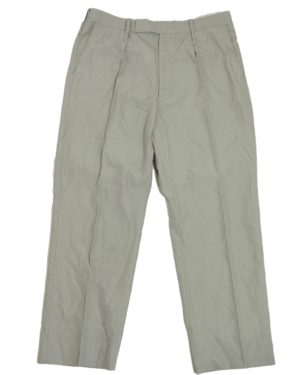British Army Surplus Stone Tropical Uniform Trousers
