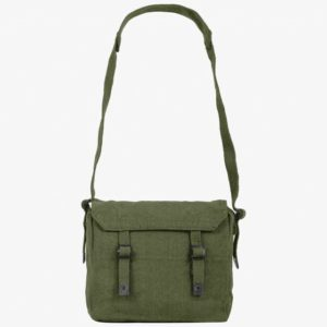Highlander Outdoor British Army Style Haversack Shoulder Bag Olive Blue Beige