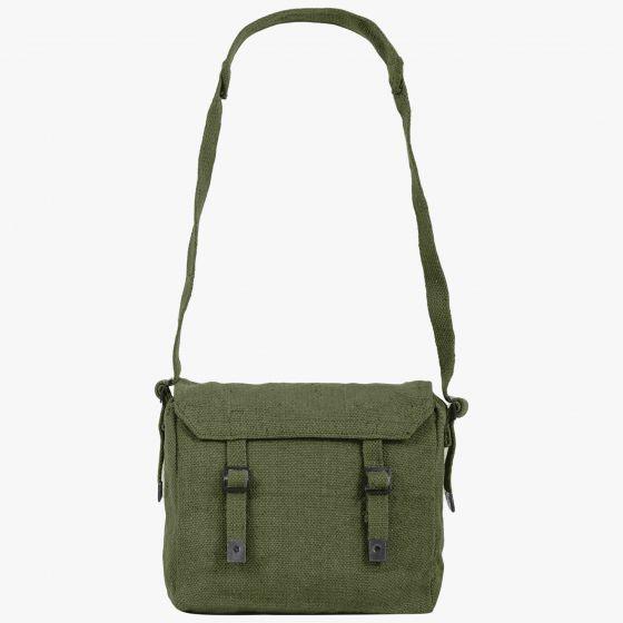 Highlander Outdoor British Army Style Haversack Shoulder Bag Olive Blue Beige